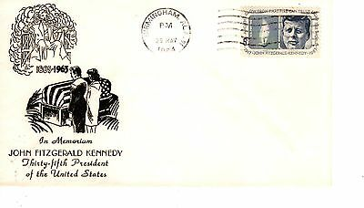 5-cent JFK John Kennedy FDC First Day Cover May 29, 1964