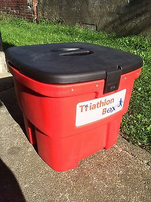 Triathlon box equipment hold all running cycling swimming travel competition