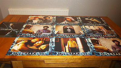 unbreakable us lobby cards set of 10