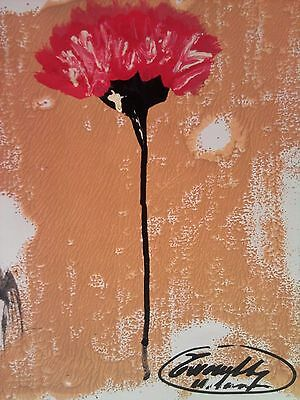 CY TWOMBLY---DRAWING dessin--PAINTING MIXED MEDIA