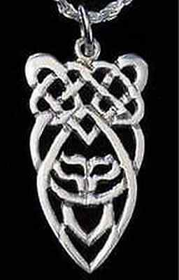 LOOK New Sterling Silver 925 Celtic Knot of Infinity Pendant