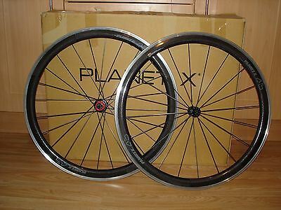 Planet X Carbon Clincher CT 45 Wheels Wheelset Great Condition!!! Shimano Sram