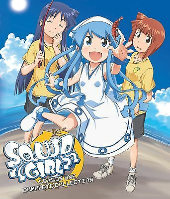 Squid Girl Complete Collection (Blu-ray Disc, 2012, 2-Disc Set) NEW!