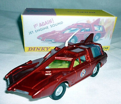 Dinky Capatain Scarlet Spc 103 Fully Restored With Repo Display Box