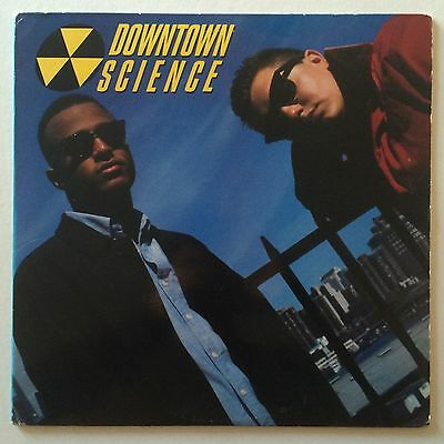 DOWNTOWN SCIENCE - S/T - Orig US Deg Jam LP w/Insert