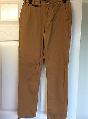 Boys rust coloured skinny trousers age 10/11 years