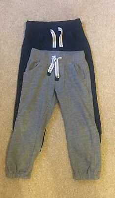 Boys Track Bottoms From M&S 3-4 Years