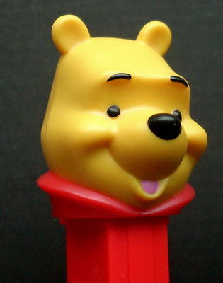 New 2013 European Pez Disney Winnie The Pooh With Painted Tongue