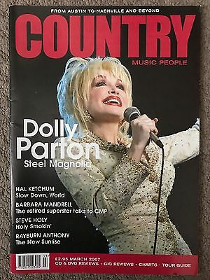 Country Music People Magazine March 2007 Featuring Dolly Parton