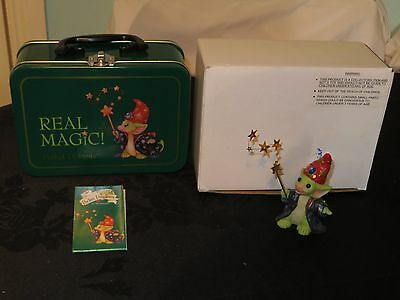 "Pocket Dragon figure ""Real Magic"" in tin presentation box 2003"