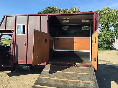 Ford Iveco Dailly 3.5t Horsebox