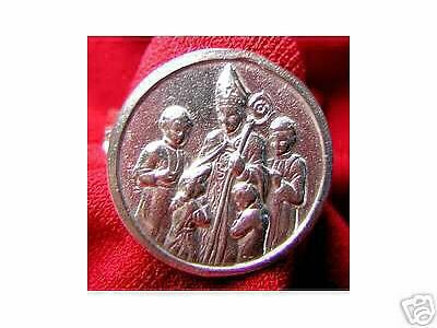 LOOK Sterling Silver Saint Patrick of Ireland ring Jewelry
