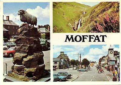 Moffat - Dumfries - Multiview - Scotland - Postcard 1982