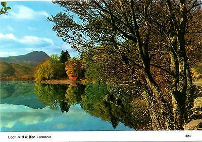Loch Ard and Ben Lomond - Scotland - Postcard 1994