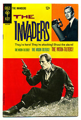 The Invaders #3 (Gold Key) VF8.6