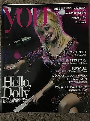 You Magazine (The Daily Mail) 18 February 2007 Featuring Dolly Parton - One Day