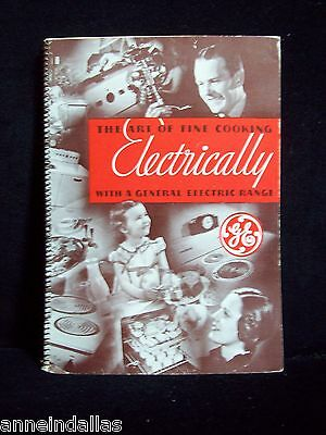 General Electric 1935 The Art of Fine Cooking Electrically with a GE Range