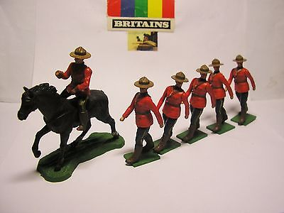 soldatini Toy soldiers Britains LTD Giubbe Rosse scala 1:32