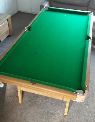 bce snooker table 6 foot x 3 foot