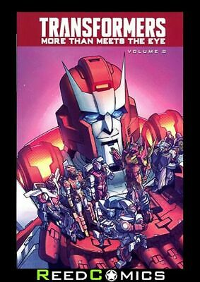 TRANSFORMERS MORE THAN MEETS THE EYE VOLUME 8 GRAPHIC NOVEL Collects #39-44