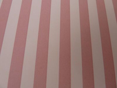 Dolls House Miniature 1:12 Scale Elle Pink Stripe Wallpaper