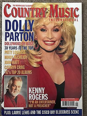 Dolly Parton On Cover Of Country Music International Magazine January 1998