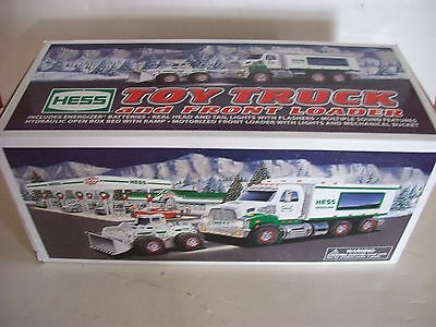 2008 Hess Toy Construction Truck w/ Front End Loader In Original Box