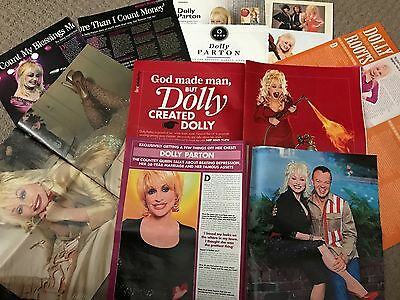 Dolly Parton Various Magazine Articles/Clippings