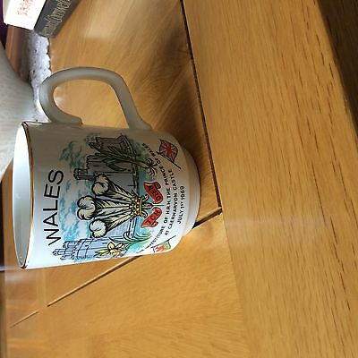 The investiture of HRH the prince of Wales 1969 commemorative mug