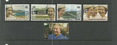ST KITTS - 1992 - 40th ANNIVERSARY  - SERIE COMPLETE SET - NEUFS / MINT (**)