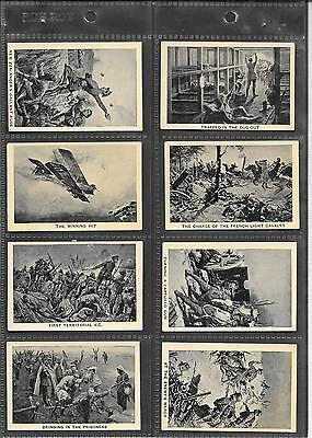 Champion - The Great War - 1928 - Very Good Full Set In Sleeves
