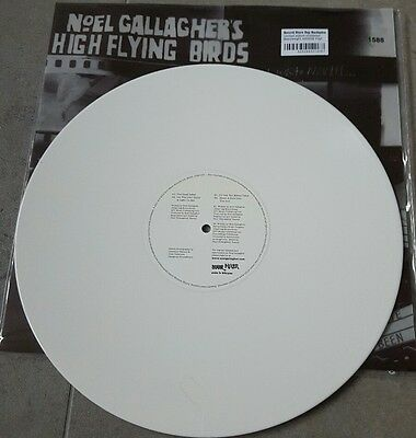 NoEL GALLAGHER - 12 INCH WHITE VINYL - RECORD STORE DAY EXCLUSIVE - OASIS - MINT