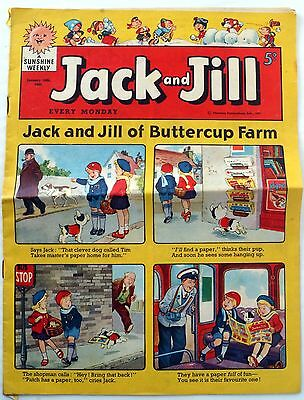 Jack And Jill Comic January 16Th 1960 Edition Reasonable Condition