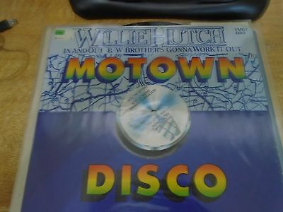 Rare Motown Disco Record 'Willie Hutch' 'In and Out' 1973 rare Motown Records