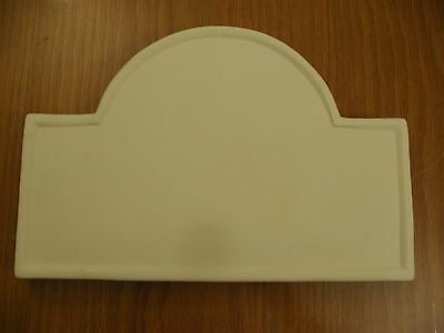 Ceramic Bisque Ready to Paint  WALL PLAQUE