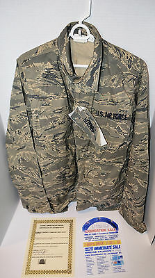 "Stargate Universe Authentic Prop Air Force Jacket ""Hoenic"" with COA"