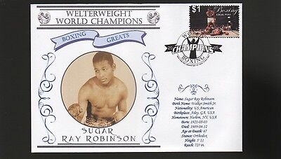 Sugar Ray Robinson Welterweight World Champ Boxing Cov