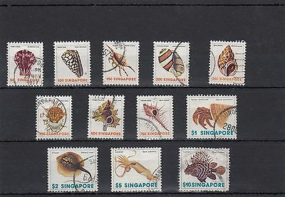 Singapore.12 -- 1970's Used Stamps On Stockcard. With High Face Value.