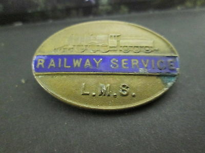 Lms Railway Service Badge