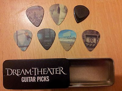 Dream Theater Set Of 7 Guitar Picks For Sale
