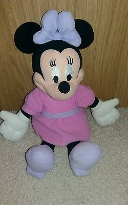 """Minnie Mouse Soft Toy. 14"""" Vgc"""