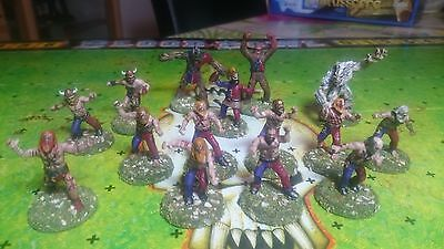 Blood Bowl Norse Team: fully converted unique 15 players including were wookies!
