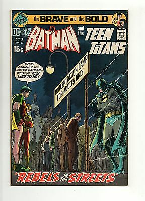 DC -  Brave and the Bold -  No 94 - 1971  - TEEN TITANS -  VF