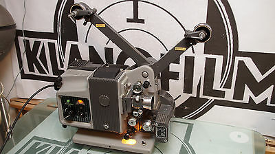Bauer P5, 16mm Projector, Filmprojektor, projektor with wooden box, Bauer Koffer
