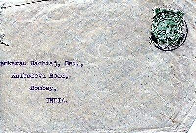Very thin envelope with cancellation LIVERPOOL/-LX4- 1916