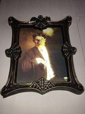 """Holographic Wall Painting Of Old Time Lad Turns Into Scary Monster App 16"""" X 19"""""""