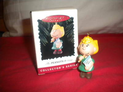Hallmark PEANUTS Christmas Ornament - Sally #4 in series MIB