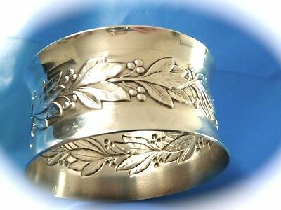 Wallace Sterling Silver Vintage Antique Silver Napkin Ring Sterling 25.1 Grms