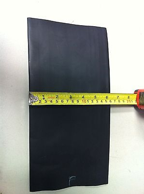 """4"""" ID ThermOsleeve BLACK Polyolefin 2:1 Heat Shrink tubing - 1' section"""