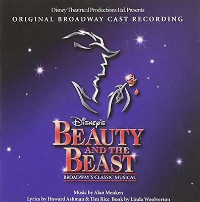 NEW Beauty & The Beast: The Broadway Musical;Original Broadway Cast Recording